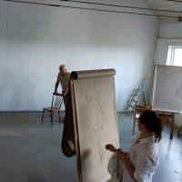 Teckning i ateljen