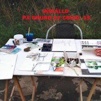 Inställd kurs på grund av covid -19