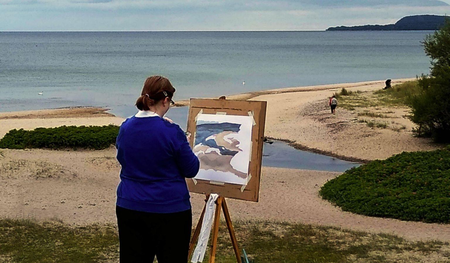 Landskapsmålning 5 dagar på Österlen